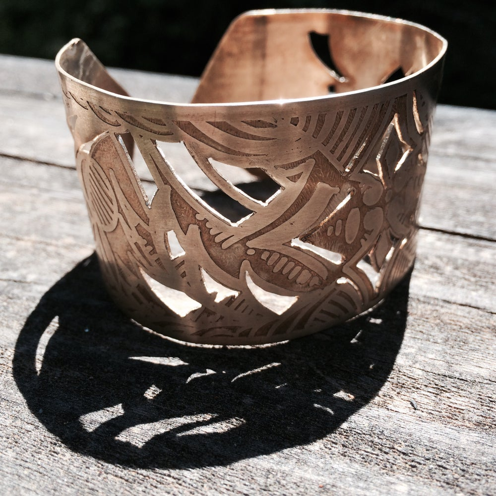 "Image of Brass ""Jungle"" Cuff"