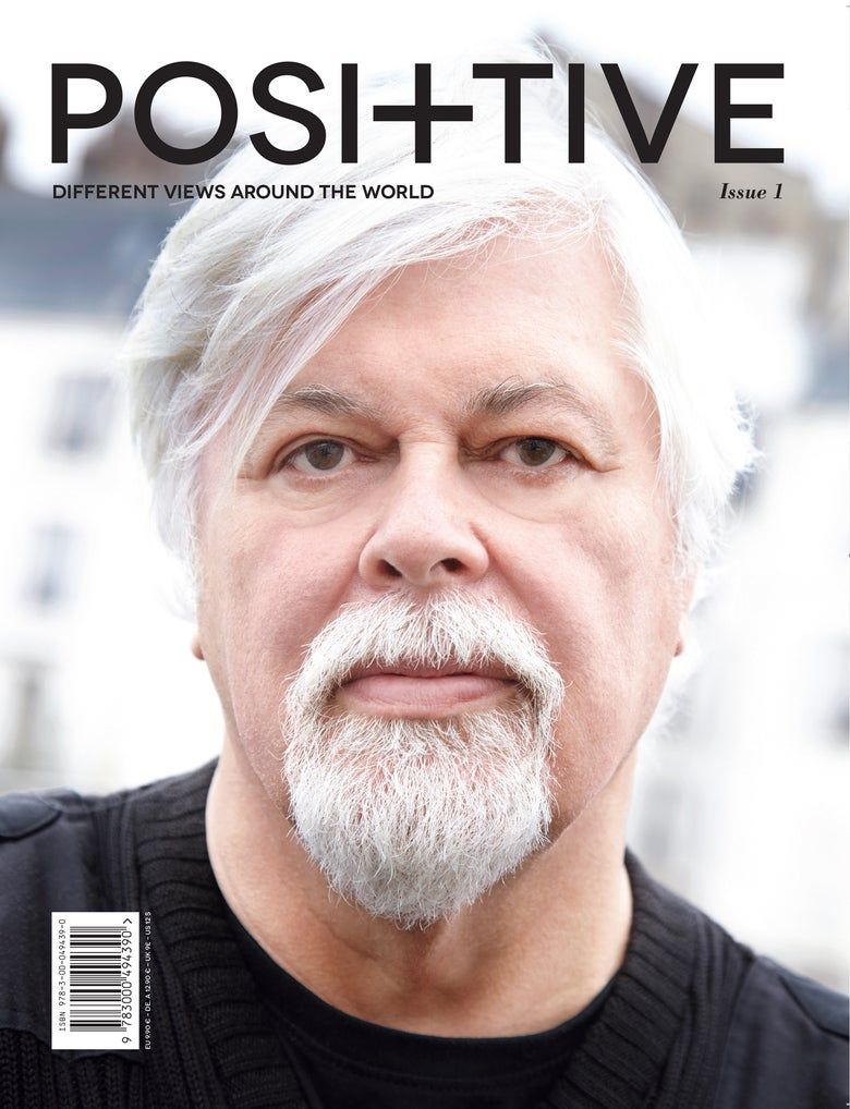Image of POSITIVE MAGAZINE ISSUE 1