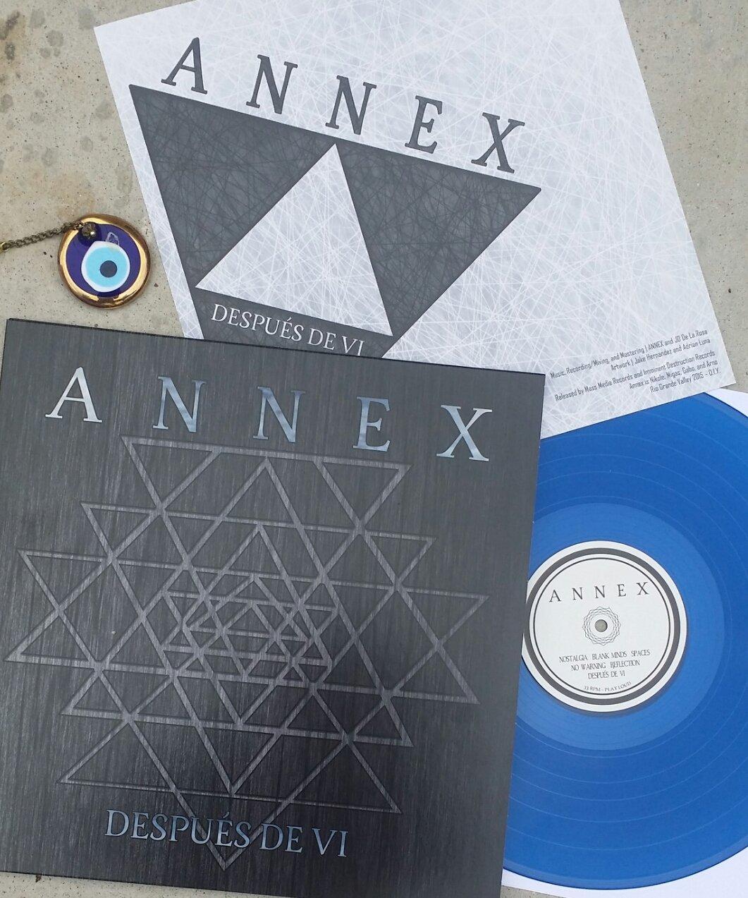 """Image of Annex """"Después de VI"""" LP Blue Vinyl"""