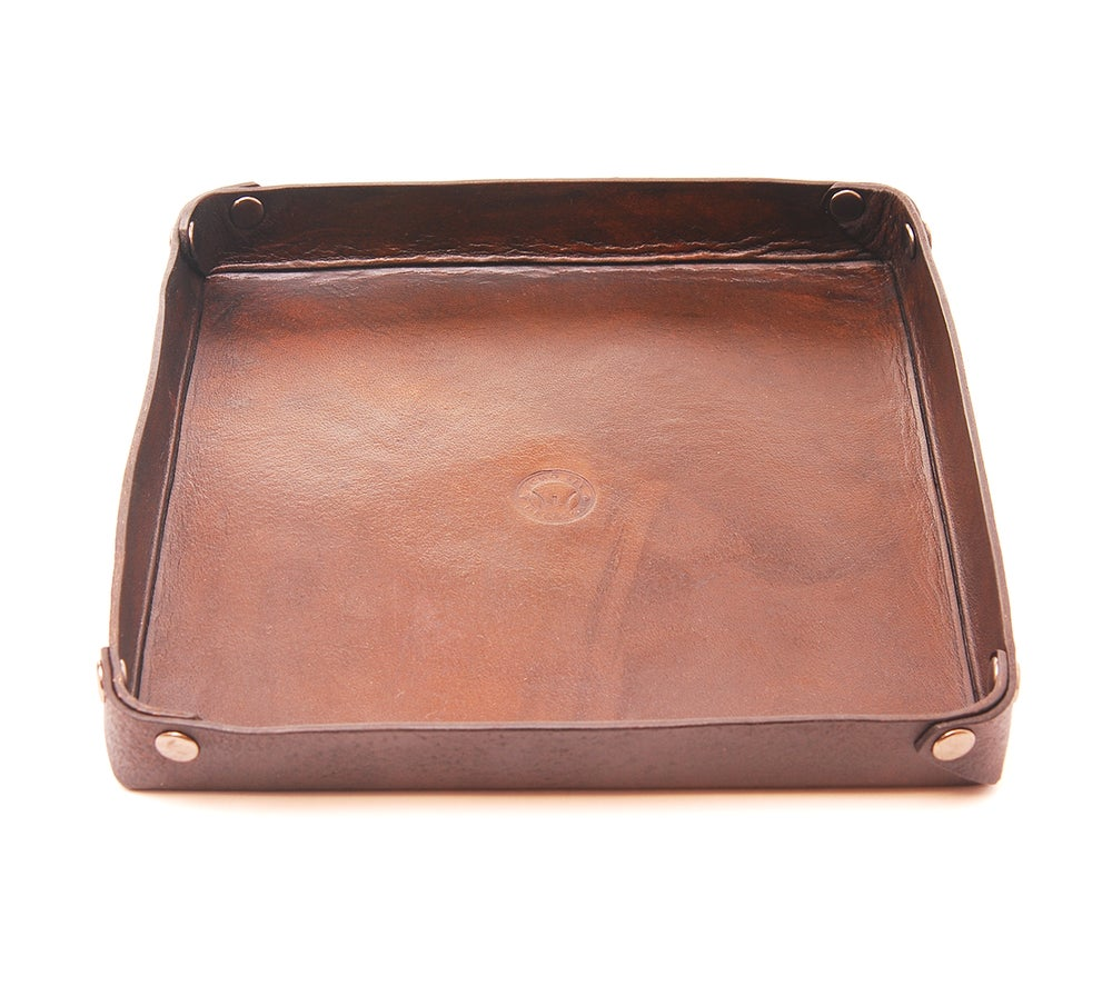 Image of Handmade Leather Valet Tray