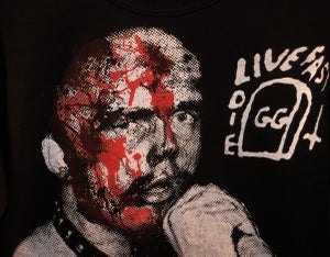 Image of GG Allin Unisex Sweatshirt