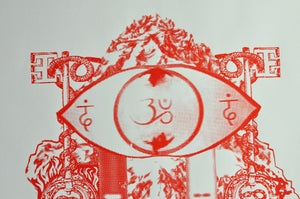 Image of Alejandro Jodorowsky's HOLY MOUNTAIN Limited Edition Screen Print Poster