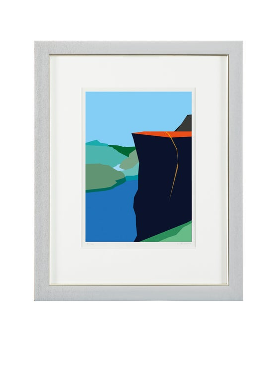 Image of Preikestolen, Norway - art print
