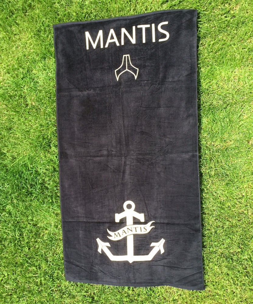 Image of Mantis Anchor Towel Black