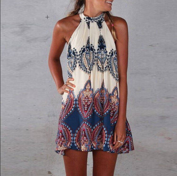 Image of Hot cute vest dress totem dress