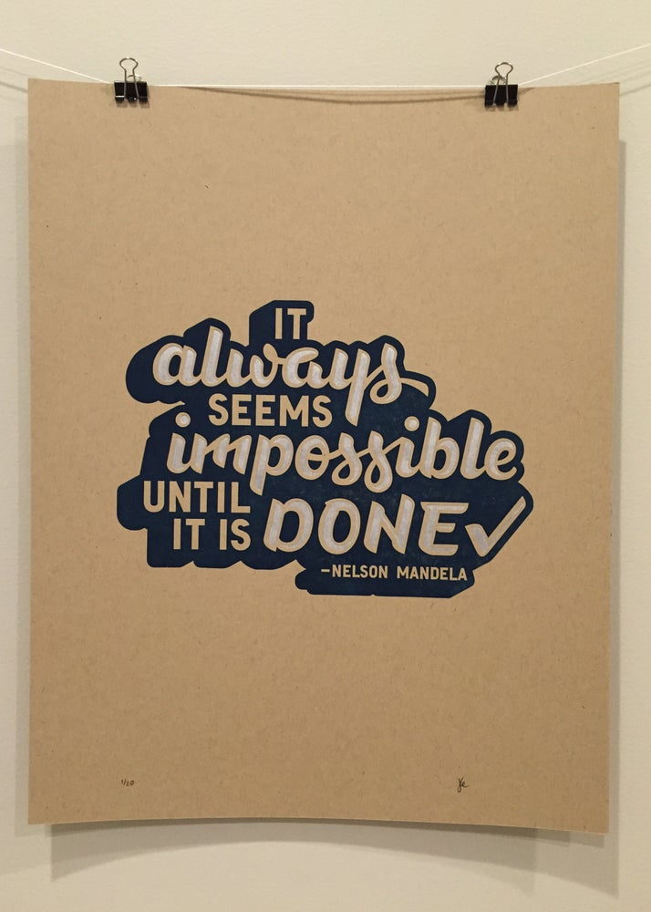 Image of Quote#2: Impossible