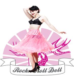 Image of Hell Bunny Rosa Underkjol 5180