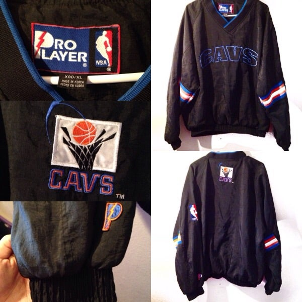 buy popular 8ffff e2c36 Vintage Cleveland Cavaliers Retro Jacket