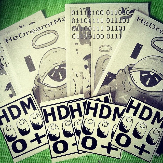 Image of HDM Zine 0!