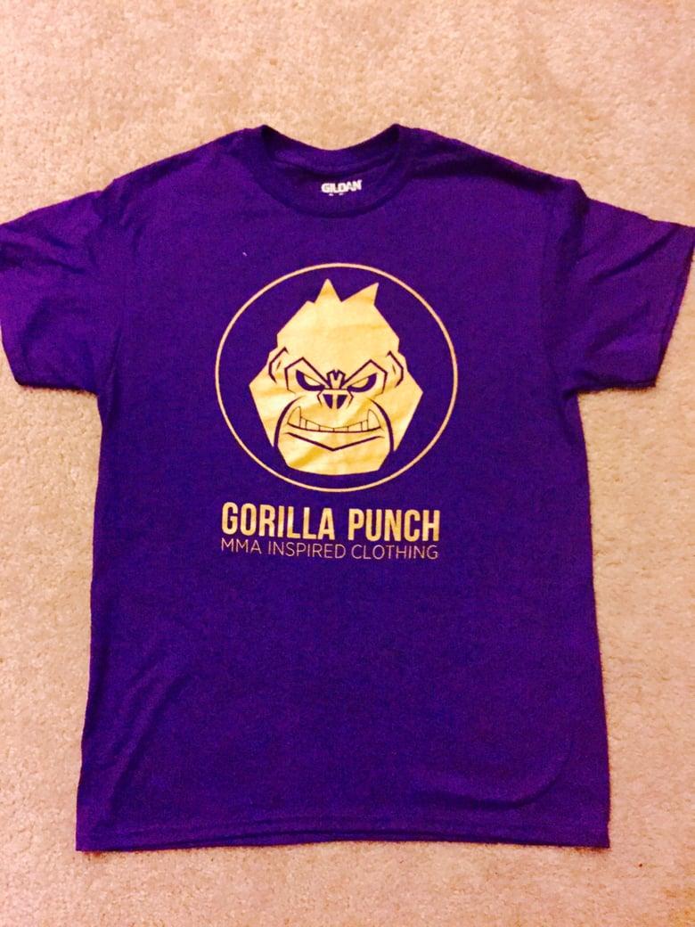 Image of Original logo purple and gold