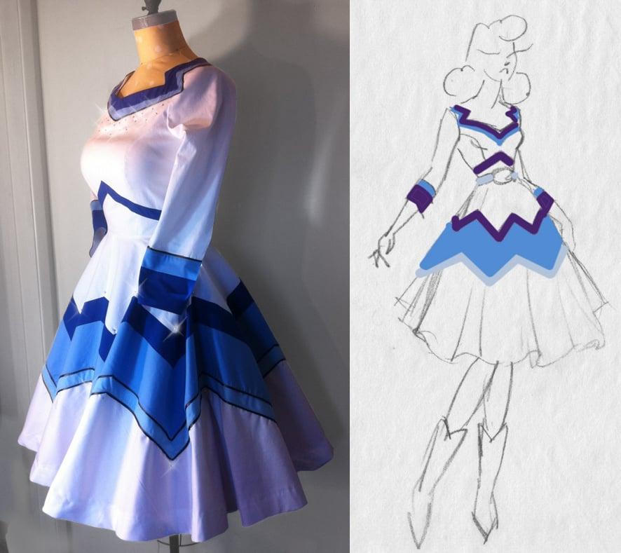 Image of Bespoke Rockin' B Dress - Made to Measure