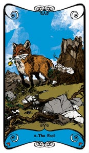 Image of Hex Arcana Tarot Series: 0 - THE FOOL