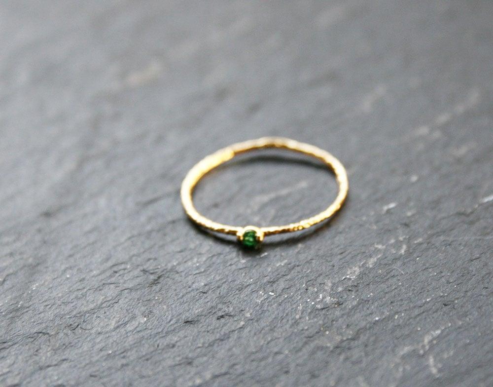 Image of Green zirconia ring
