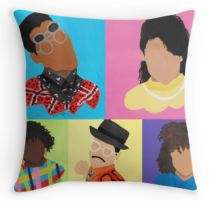 """Different"" Throw Pillow"