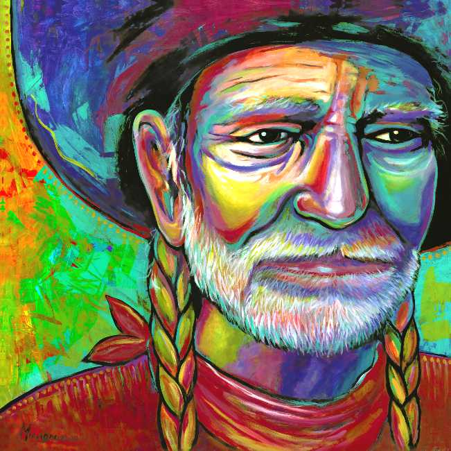 "Image of ""Willie"" Canvas Gicleé"