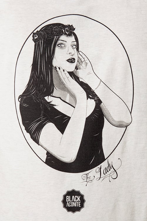 Image of The Lady -T-shirt à col V homme