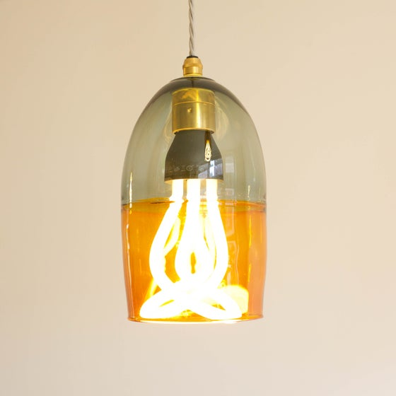 Image of Hand made glass lamp shades