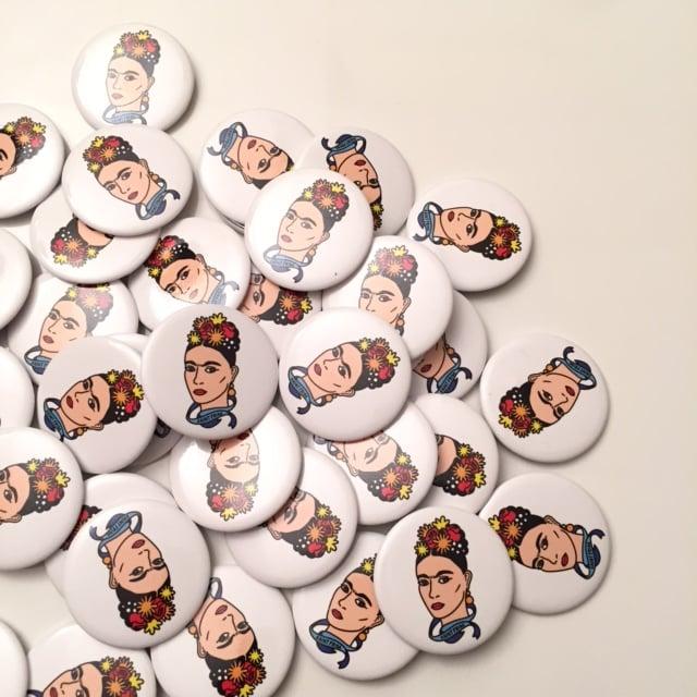 Image of Saint Frida #1 Button