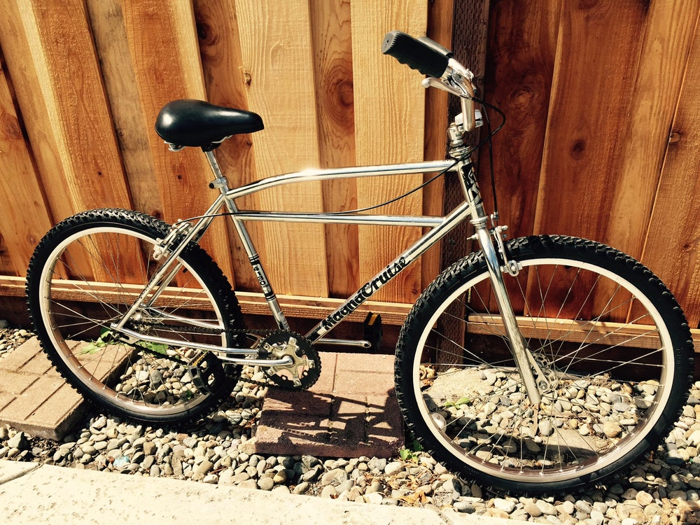 "Image of Old School Chrome MCS Magna Cruise 26"" BMX Race Bike,Tuf-Neck Bars,Araya"