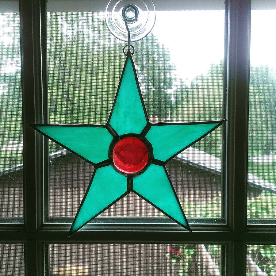 Image of Emma Star-stained glass