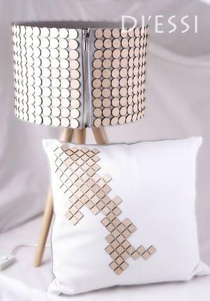 Image of Decorative Cushion - Light Mint