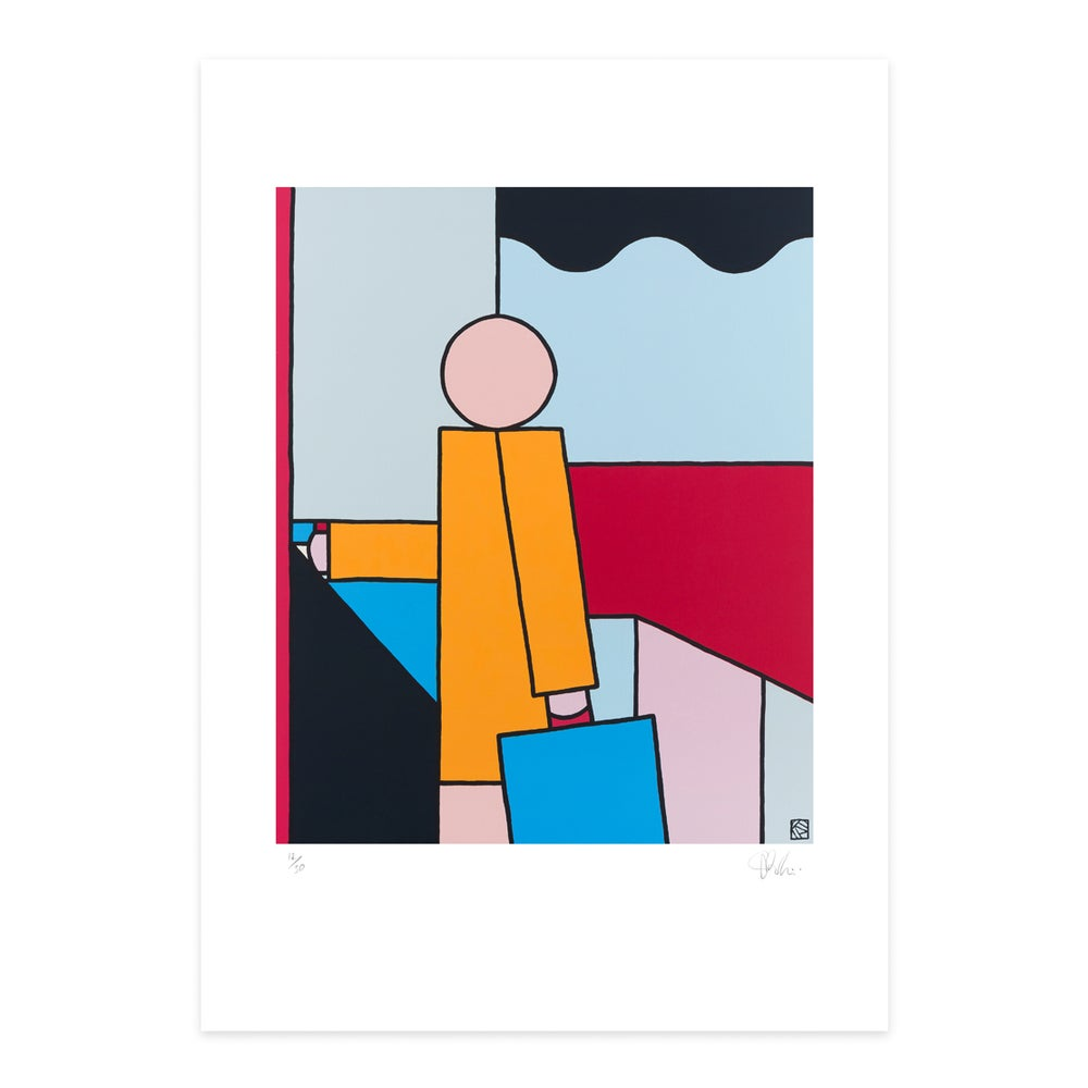 Image of 'Rough Day' - Giclee art print
