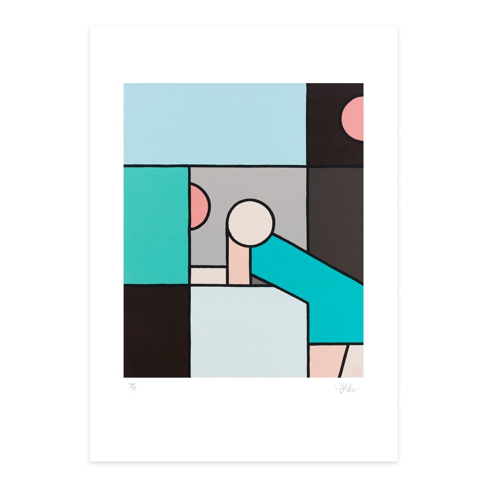 Image of 'Reception' - Giclee art print