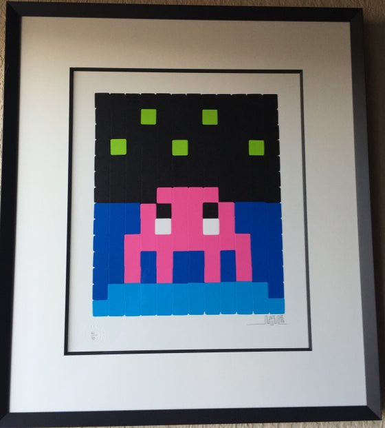 Image of INVADER | SPACE ONE [PINK]