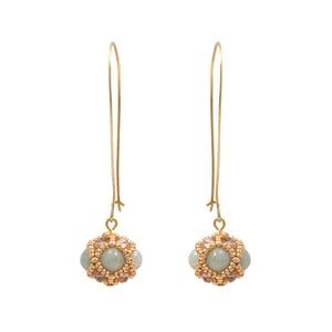 Image of Amazonite Empire Earrings