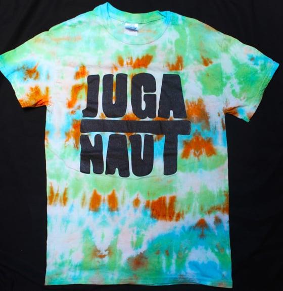 Image of Juga-Naut Logo Tie-Dye T-Shirt