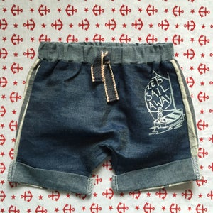 Image of Hello sailor boy shorts size 1