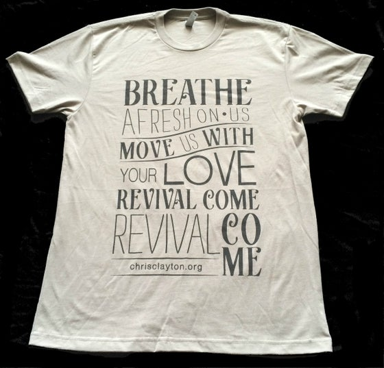 "Image of ""Revival Come"" T-Shirt (Grey)"