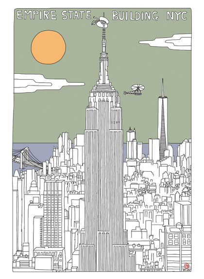 Image of New York Project - empire state building