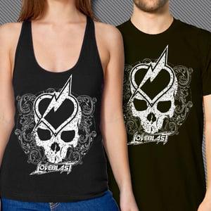 Image of LOVEBLAST Heart & Skull (T-shirt or Tank Top)