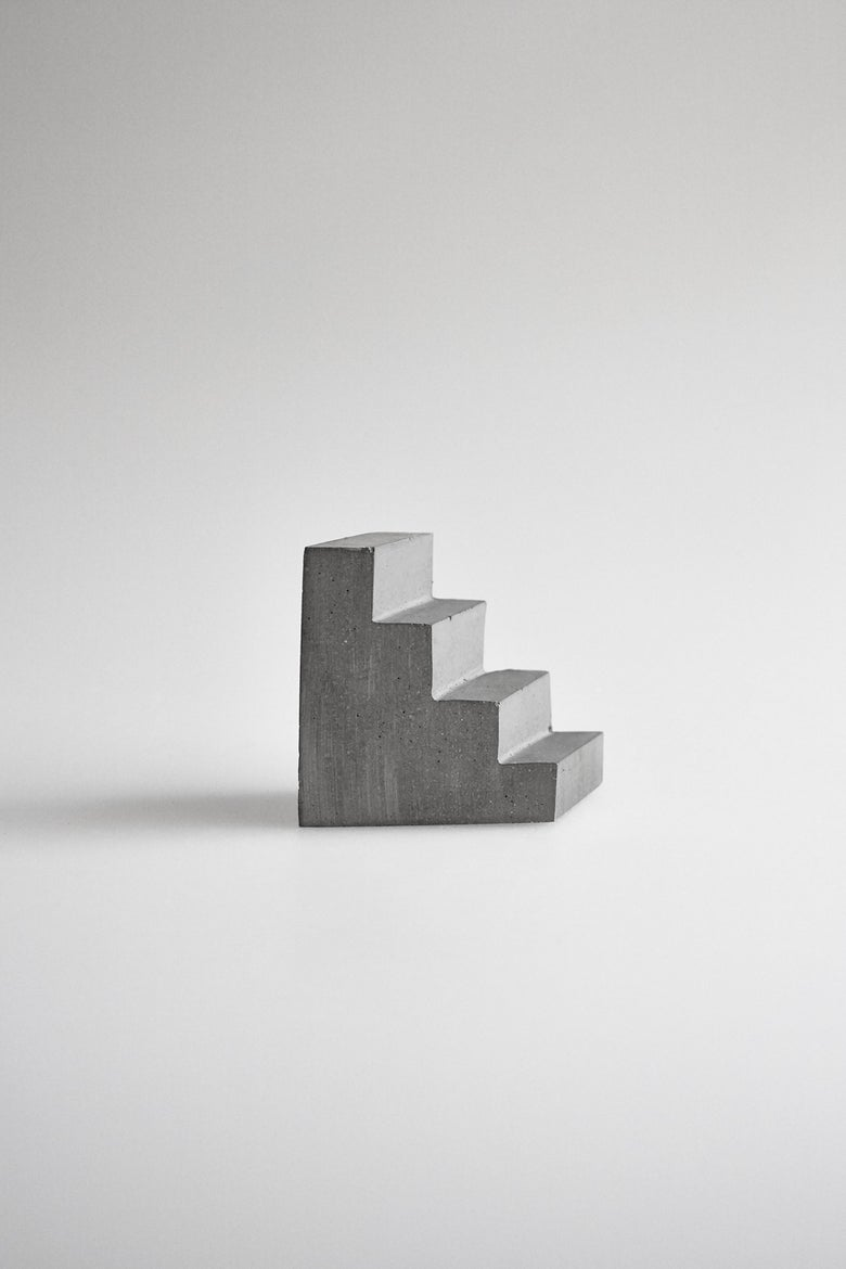 Image of Concrete Staircase Paperweight