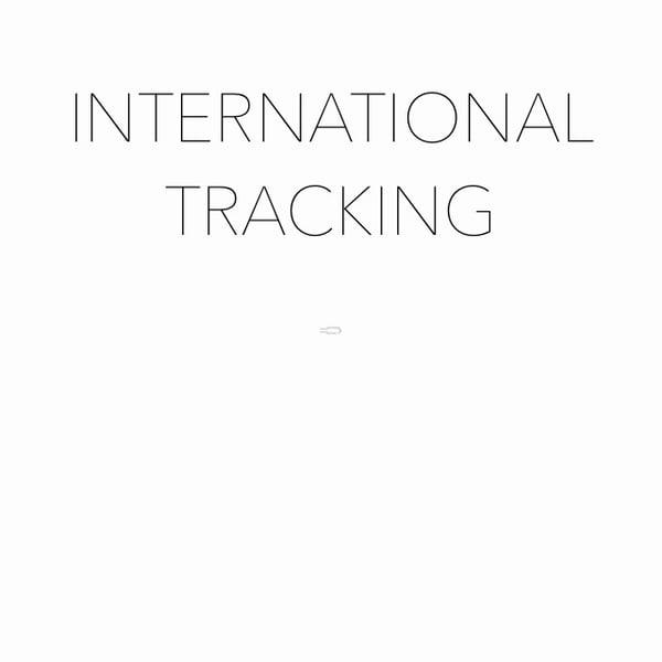 Image of International Tracking