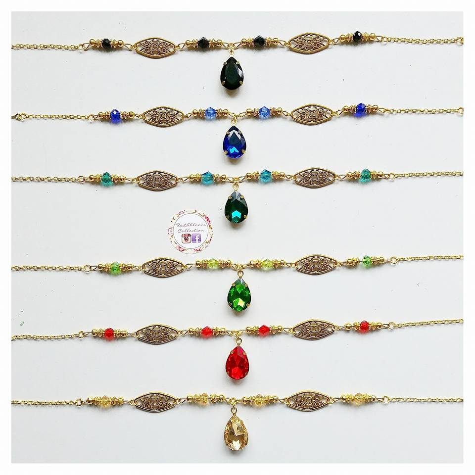 Image of Sheebah Head Piece and Hand Chain Sets