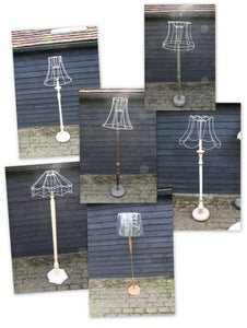 Image of Standard Lamps Rewired and Painted to order