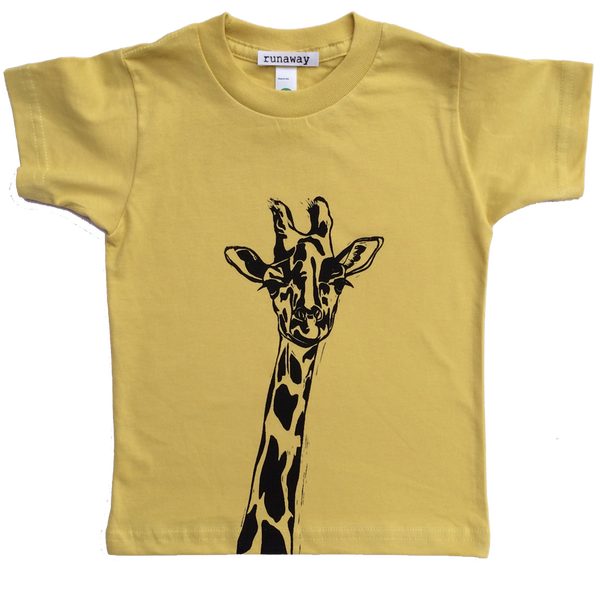 Image of George the Giraffe T-Shirt by Tamsin Arrowsmith-Brown