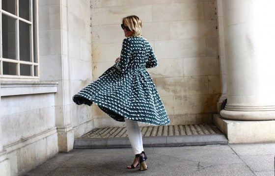 Image of HM Trend Dress Coat