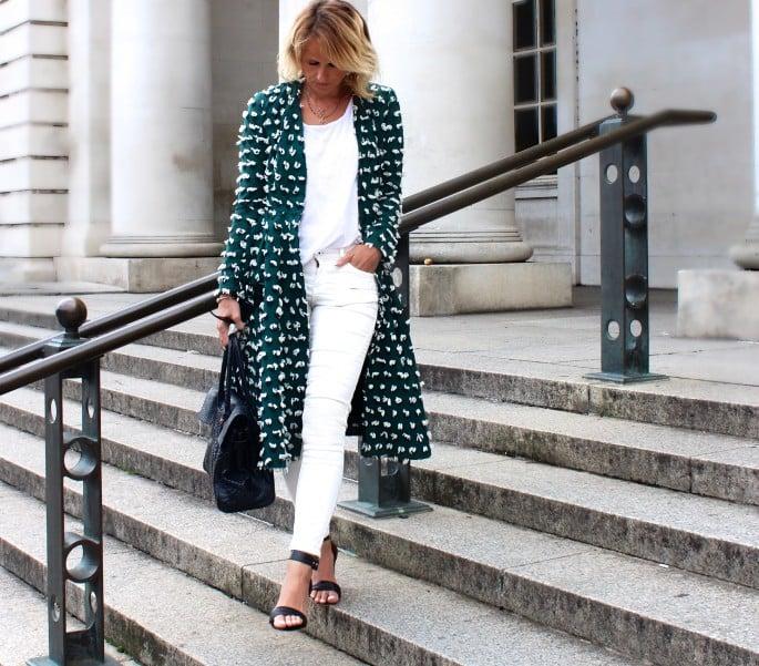 Image of HM Trend Dress Coat
