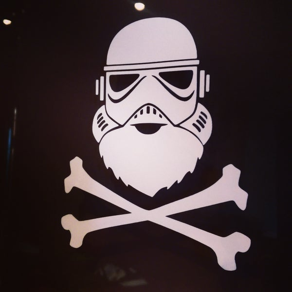 Image of Team Beard - BeardTrooper Sticker