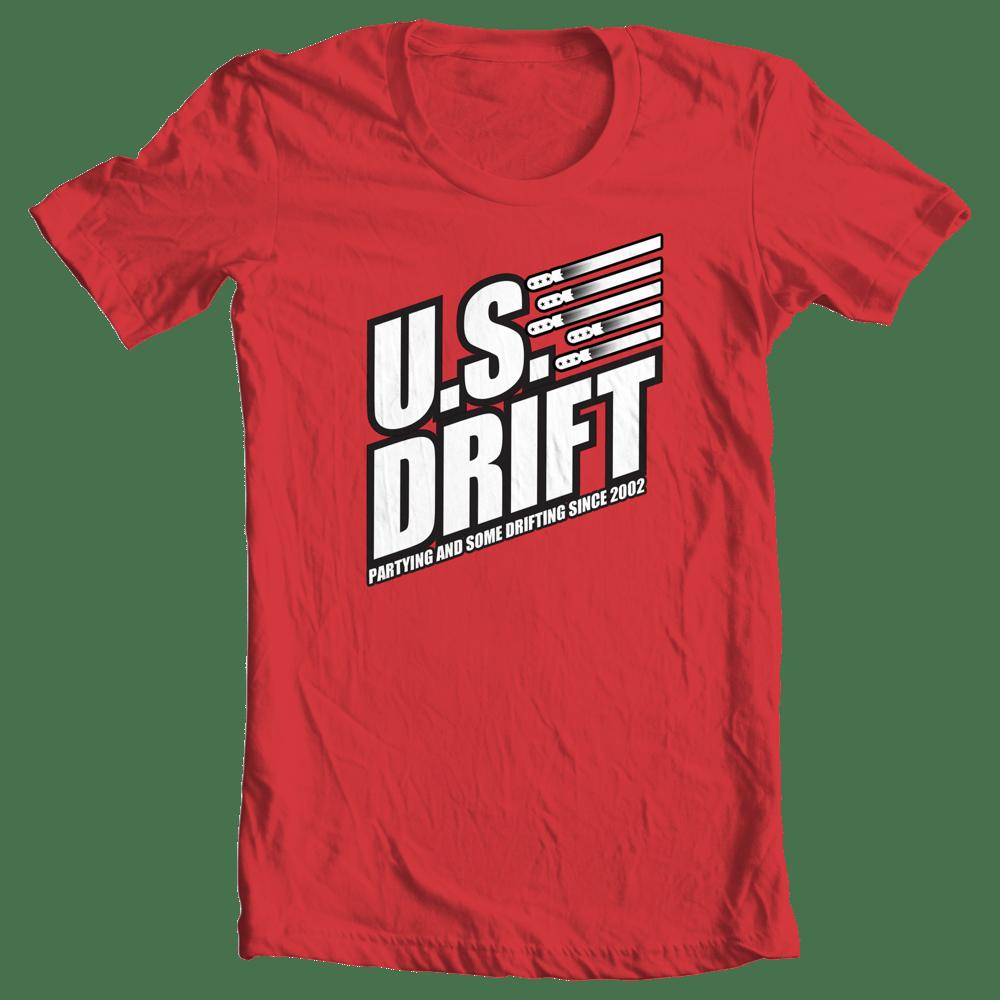 Image of 2015 USDrift Bomb Logo T-Shirt REⱭЯUM