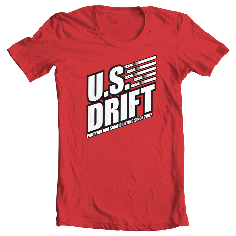 Image of 2015 USDrift Bomb Logo T-Shirt REⱭЯUM