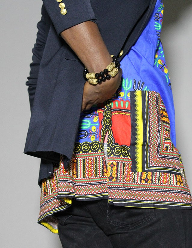 Image of Blue Dashiki