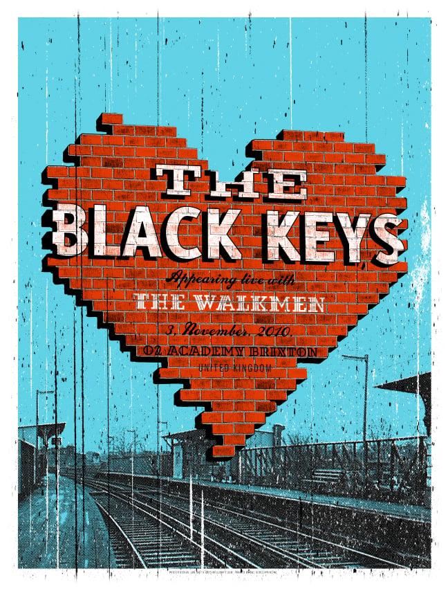 Image of Black Keys Brixton MIni Print 2