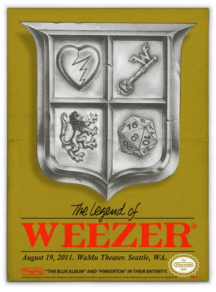 Image of Weezer Mini Print