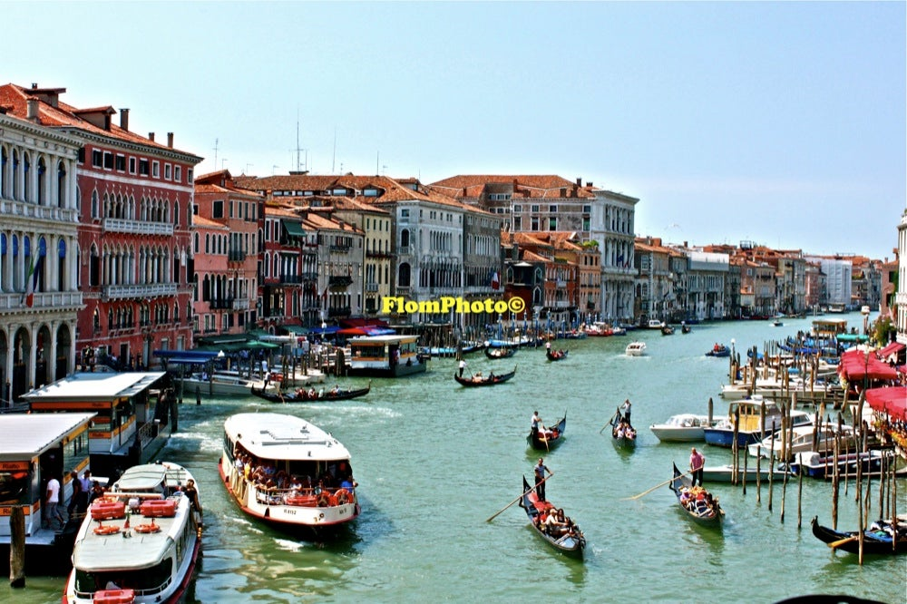 Image of Venice Waters 1 • Exhibition Photograph