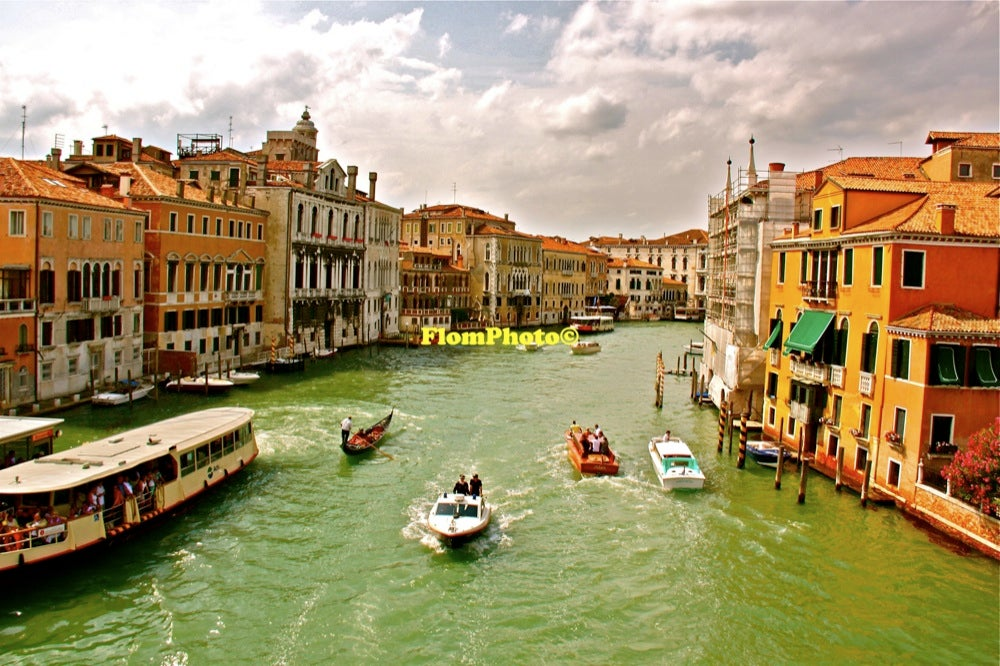 Image of Venice Water 2 • Exhibition Photograph