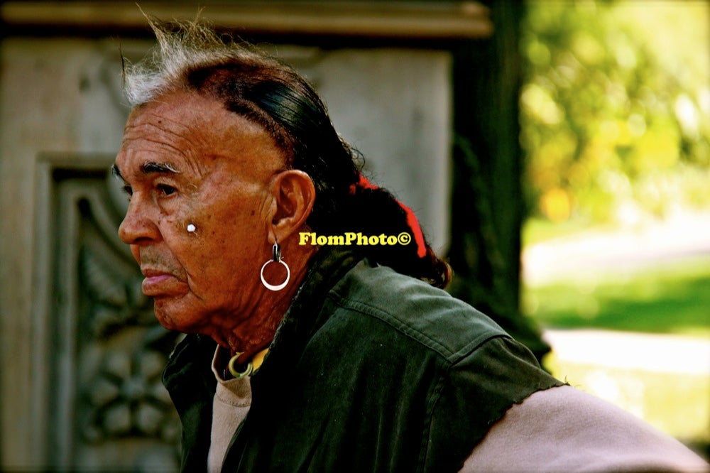 Image of Native American • Exhibition Photograph